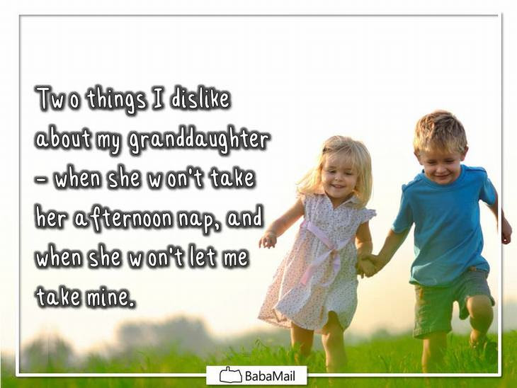 Hilarious What It Means To Be A Grandparent Funny Babamail