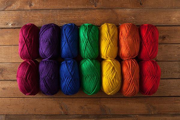 Mighty Stitch Yarn Sampler