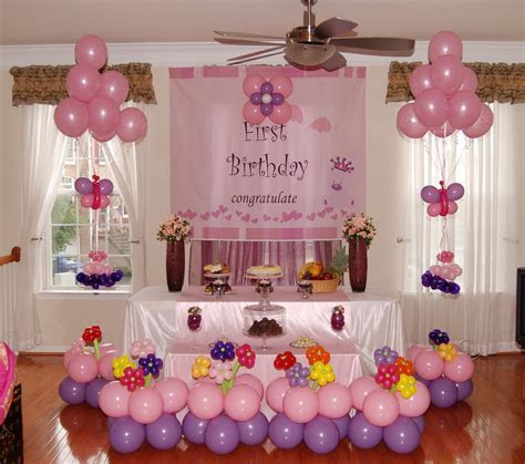 Birthday party organisers, First birthday party organisers