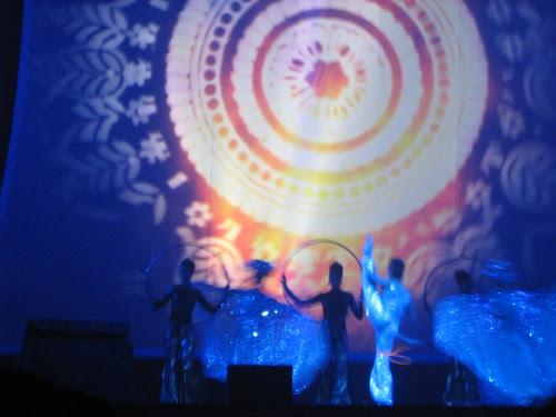 Performance during Dubai Film Fest 2008 Closing Ceremony