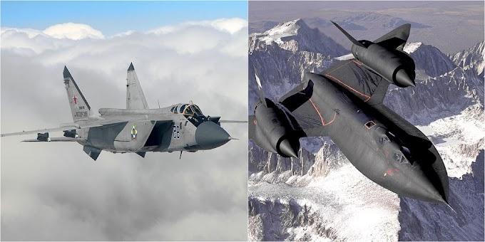 Foxhound x Blackbird: ex-piloto de MiG-31 conta como interceptar e abater o avião espião SR-71