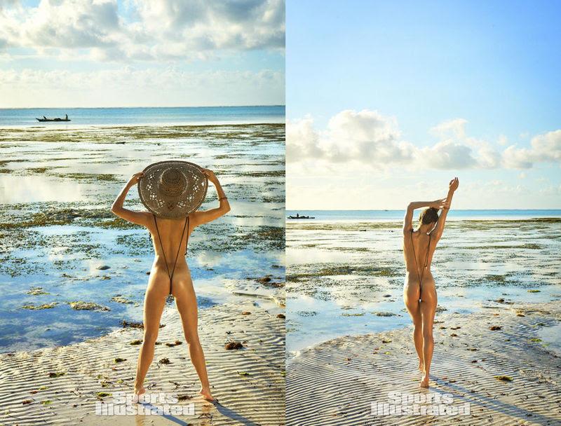 Irina Shayk, Nina Agdal na Sports Illustraded 360º
