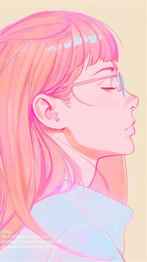 anime art art girl background beautiful beautiful