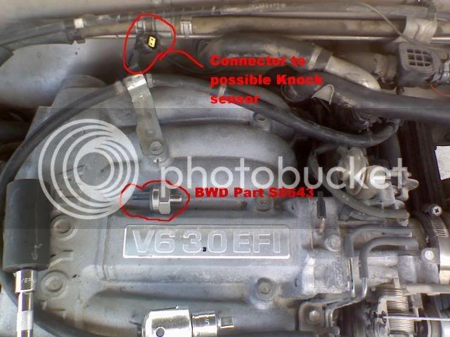 Knock Sensor for Toyota Pickup 4Runner Celica 1988-1991 MR2 Lexus LS400 1991