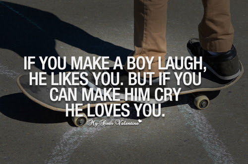 If You Can Make A Boy Cry He Loves You Pictures Photos And Images