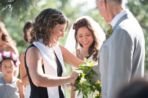 Chief Hosa Lodge Wedding Ceremony : Colorado Wedding Officiant