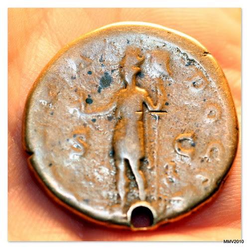moneda romana de Adriano