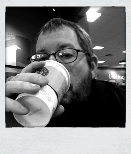 Hospital visits done, rice crispy consumed, heading home drinking coffee