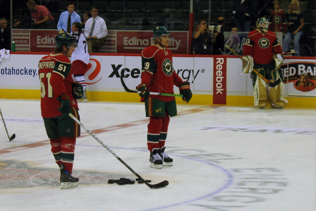 Last season, James Sheppard was number 15, but with Brunette returning to the Wild, his previous number was 15, so Sheppard gave up his number and is now number 51.