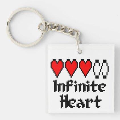 Infinite Heart key chain