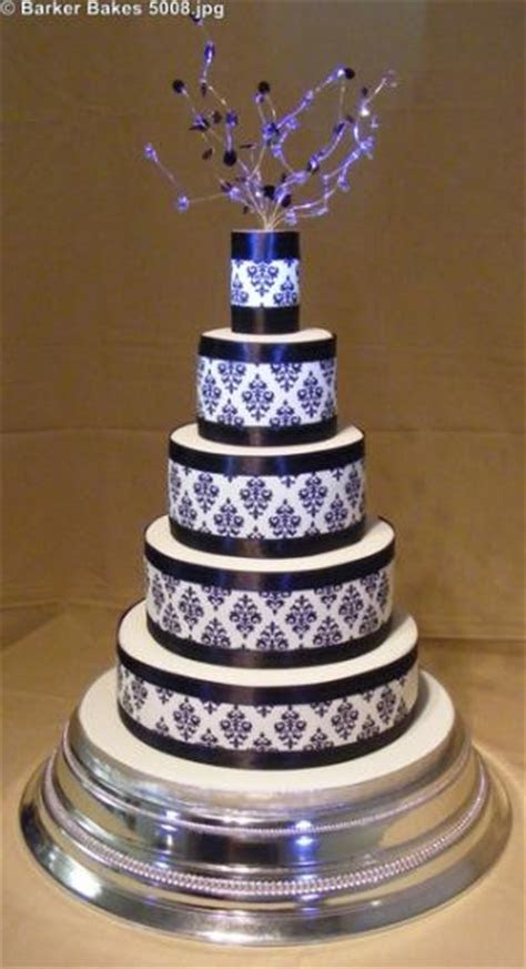 5 Tier Wedding Cakes ? Barker Bakes Ltd