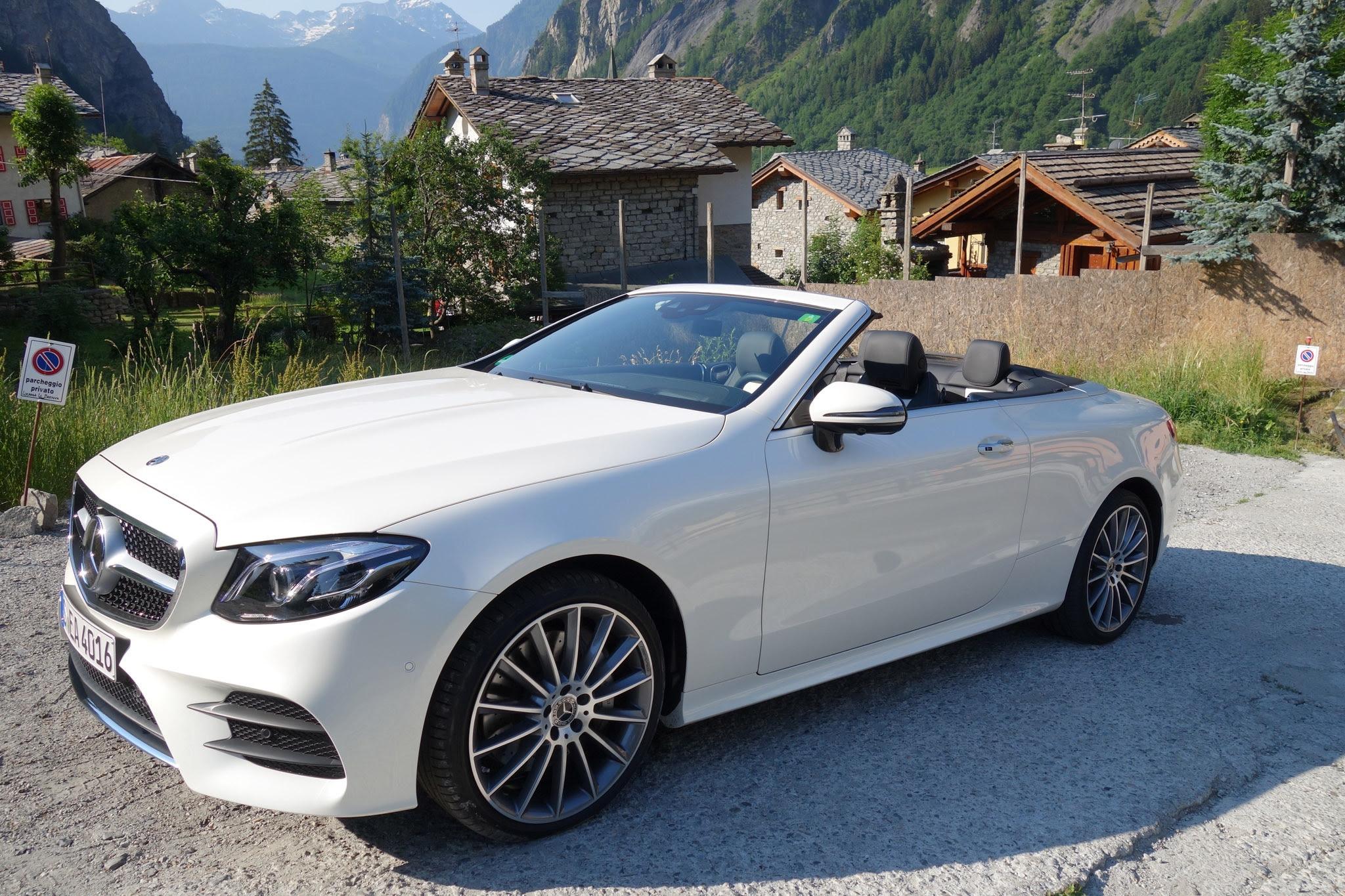 First Drive: 2018 Mercedes-Benz E400 4MATIC Cabriolet ...