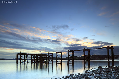 Old Jetty, Hawkcraig, Aberdour by SwaloPhoto