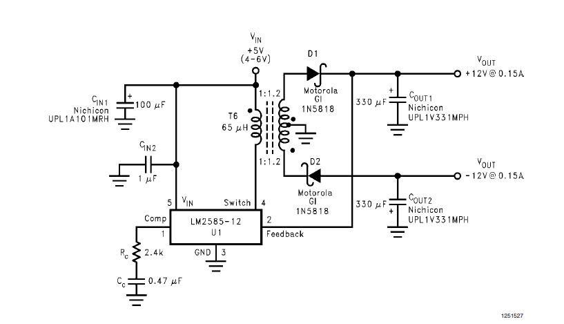 12vdc To 24vdc Converter Circuit Wiring Diagram