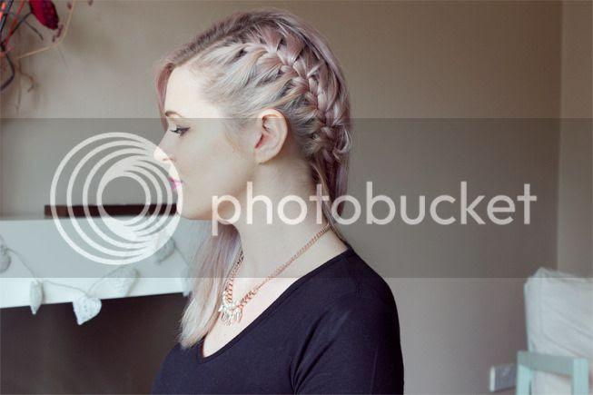 pastel hair side braid cher lloyd hair