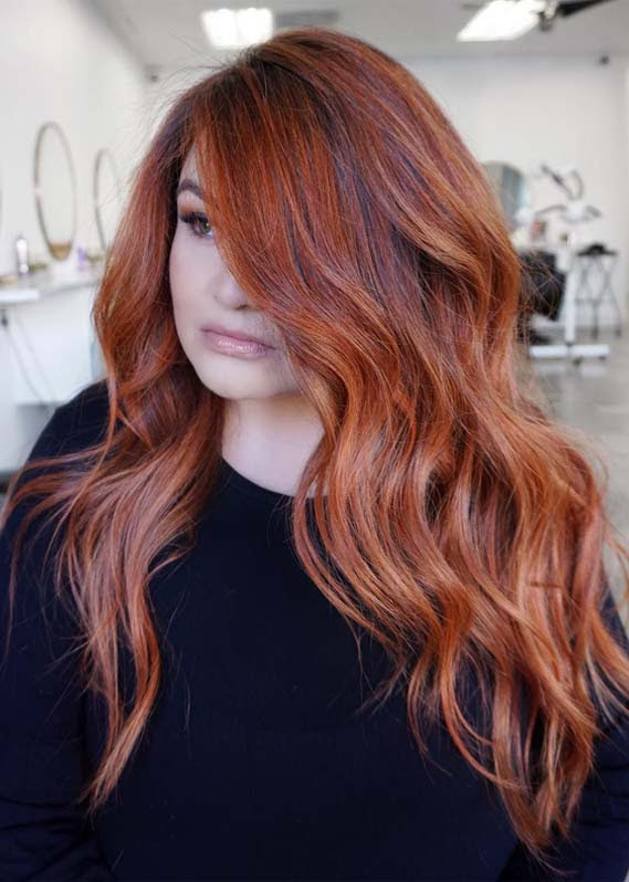 Hottest Red Copper Hair Color Shades to Create in 2019  Modeshack
