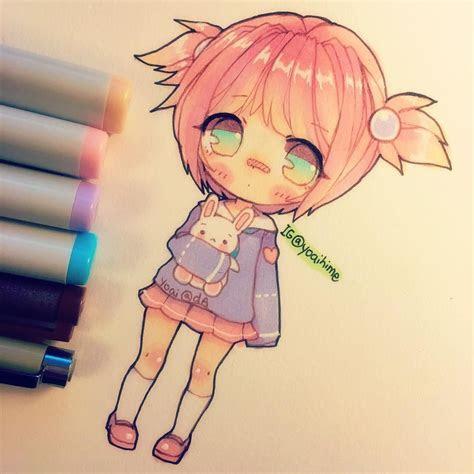 yoaihime artdrawing anime art chibi kawaii drawings