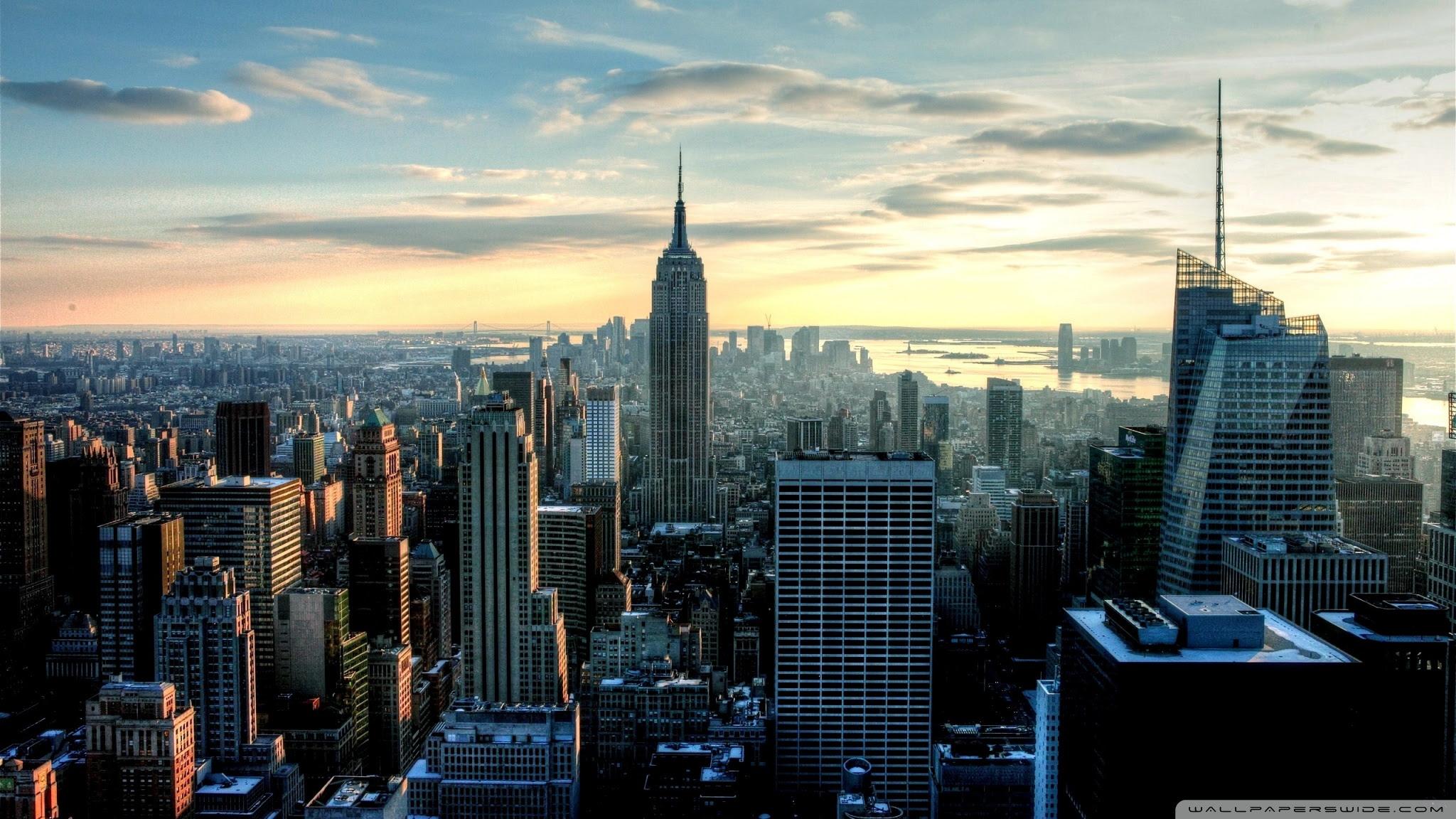 New York View Ultra Hd Desktop Background Wallpaper For 4k Uhd Tv