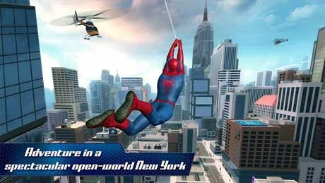 The Amazing Spider Man 2 v1.2.2f Apk + Mod + Data Cracked for android
