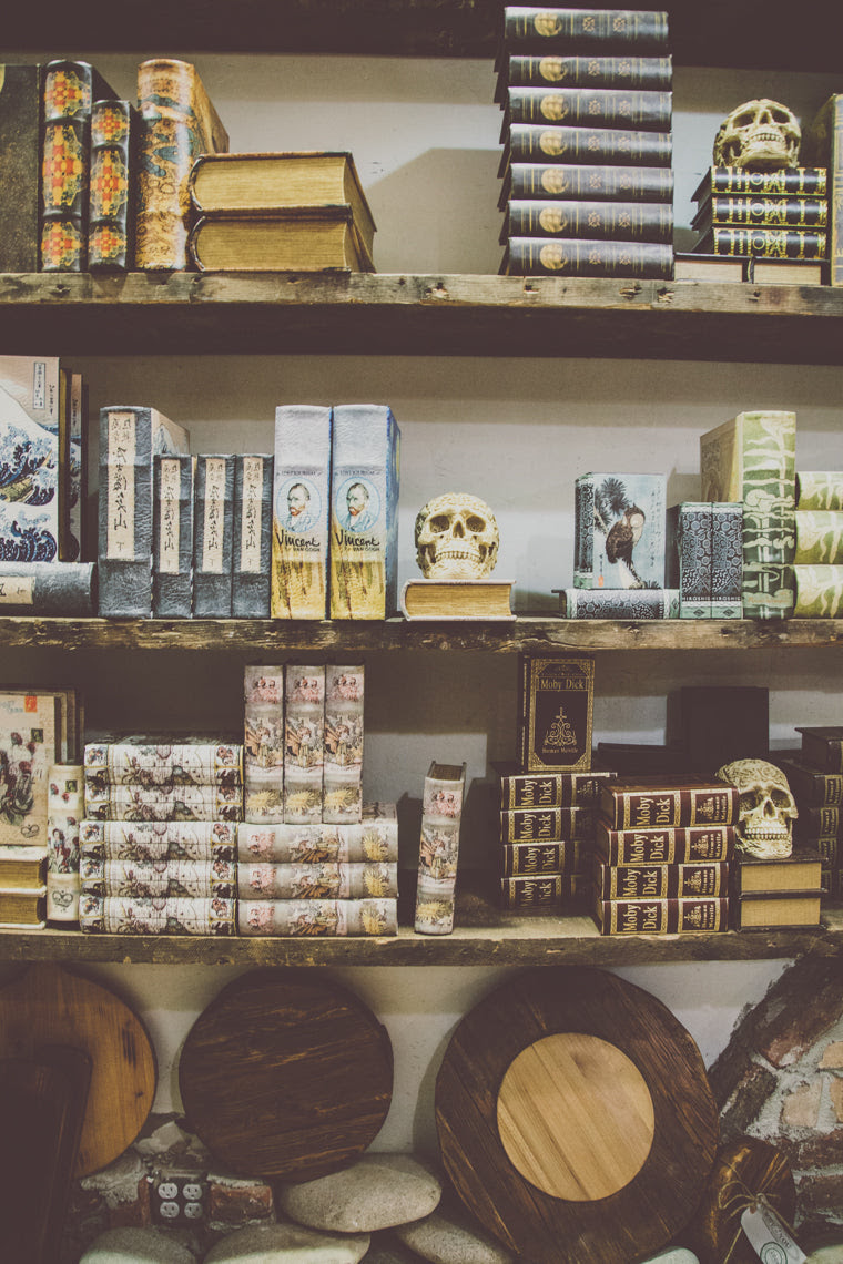 Photo of Antique Bookshelf