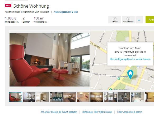 Single wohnungen frankfurt am main