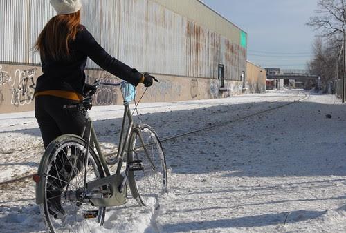 Snow Bike Launch