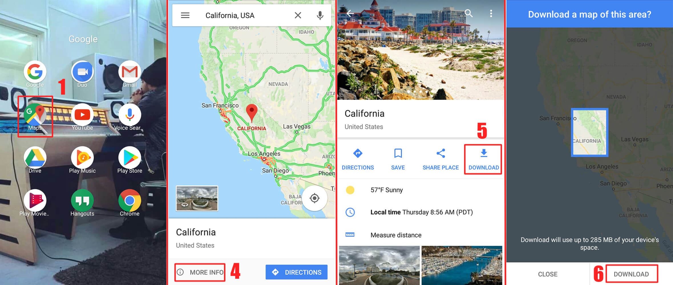How To Use Google Maps Offline On Android Iphone Without
