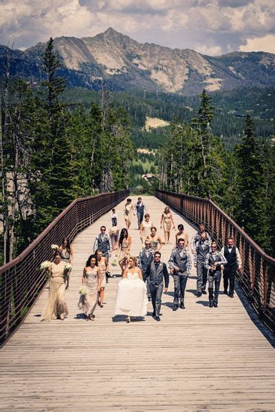 Moonlight Basin   Big Sky, MT Best Wedding Venue   Best