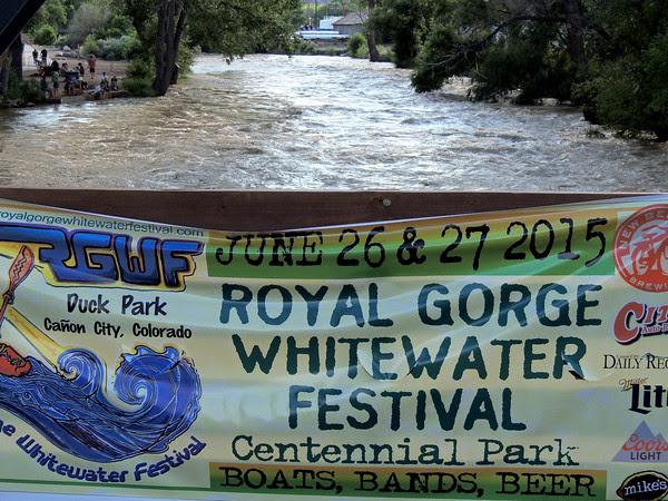 They've definitely got plenty of whitewater!