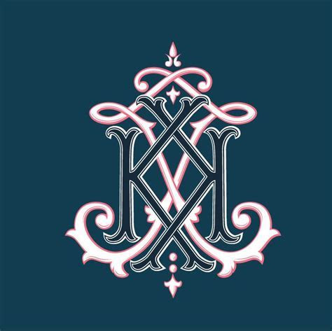 21 best images about monogram vintage wedding logo on