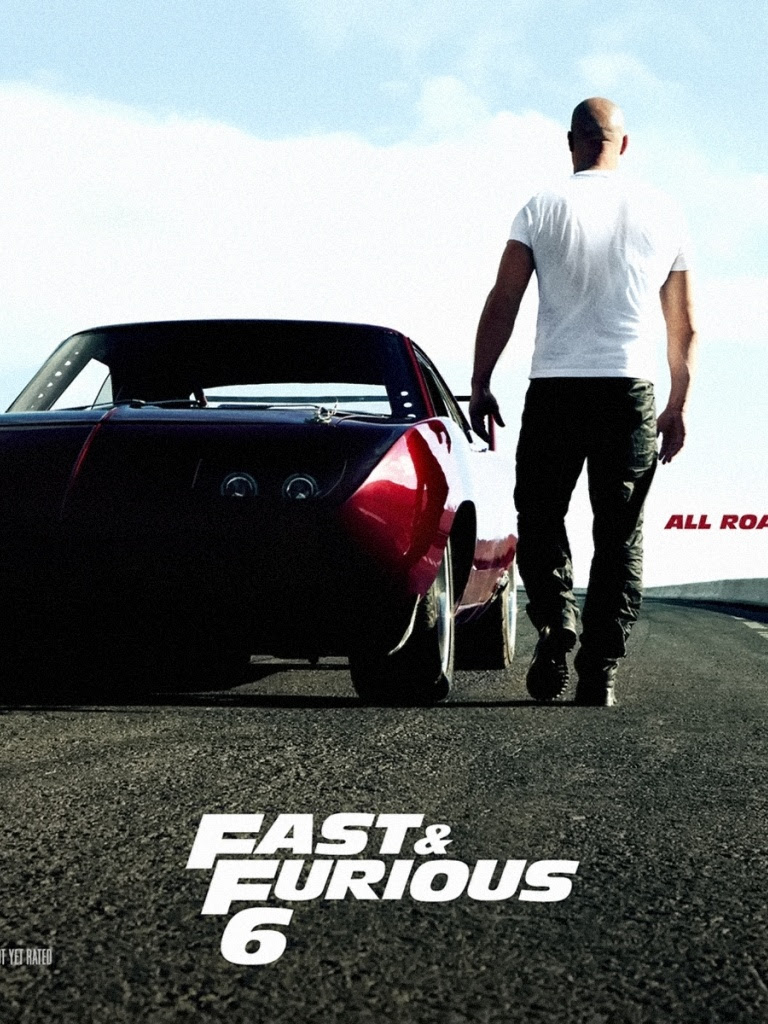 768x1024 Fast Furious 6 Movie Poster Ipad Mini Wallpaper