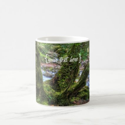 Creek Trees at Spitchwick Coffee Mugs