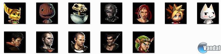 Se filtran nuevos personajes y escenarios de PlayStation All-Stars Battle Royale