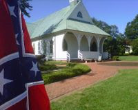 Demand the VMFA return the Confederate Battle Flags to the portico of the Confederate War Memorial