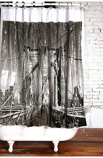 Decorate: New York Shower Curtains | annie.