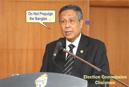 13 General Election - EC Don't Prejudge Banglas