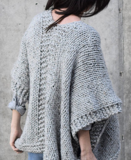 Plus size beginners free easy knit videos cardigan for
