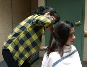 Samantha Diaz corte de cabelo Invicta FC