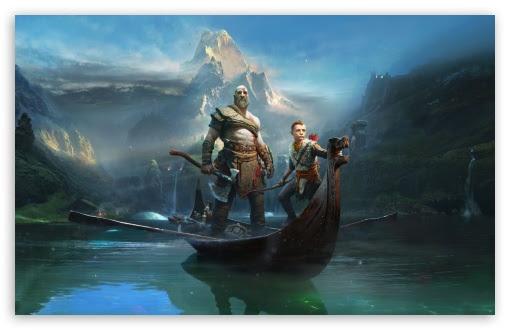 God Of War Kratos And Atreus 2018 Game Uhd Desktop