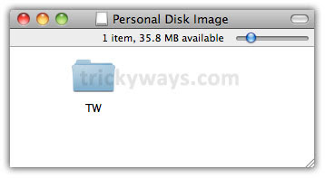 Create Password Protected Disk Image on Mac