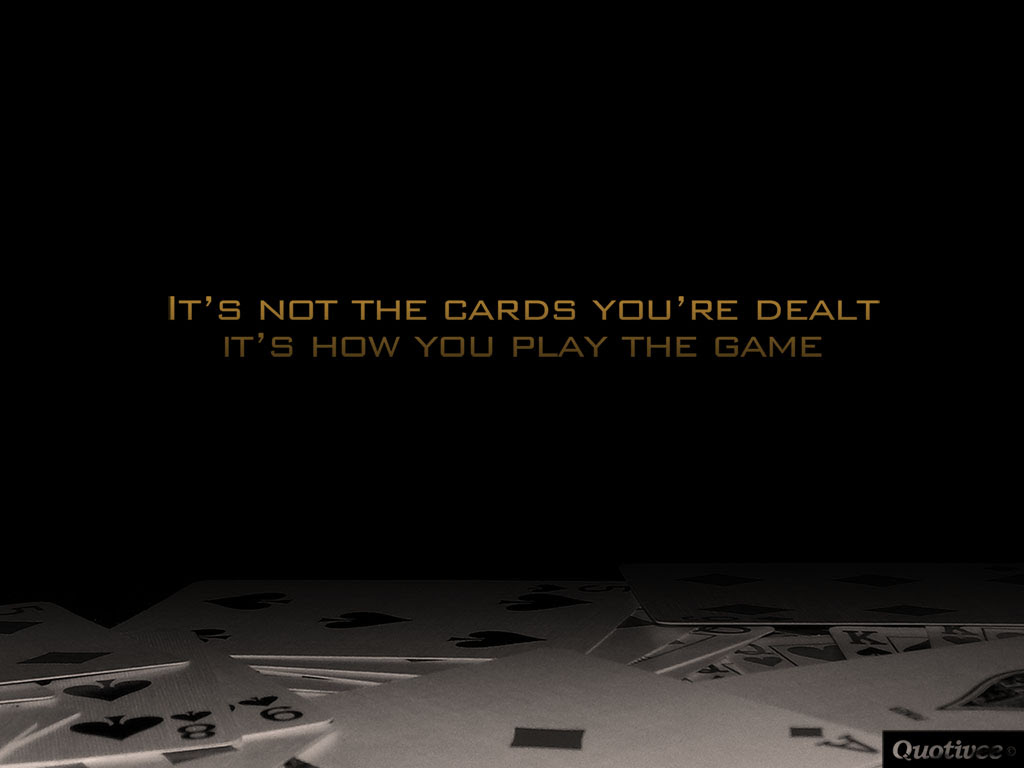Its How You Play The Game Inspirational Quotes Quotivee