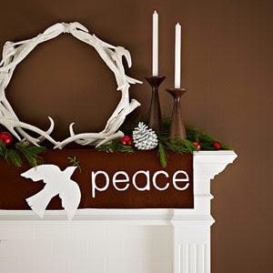 From Bali With Love Christmas Mantel Decor From Bali With Love