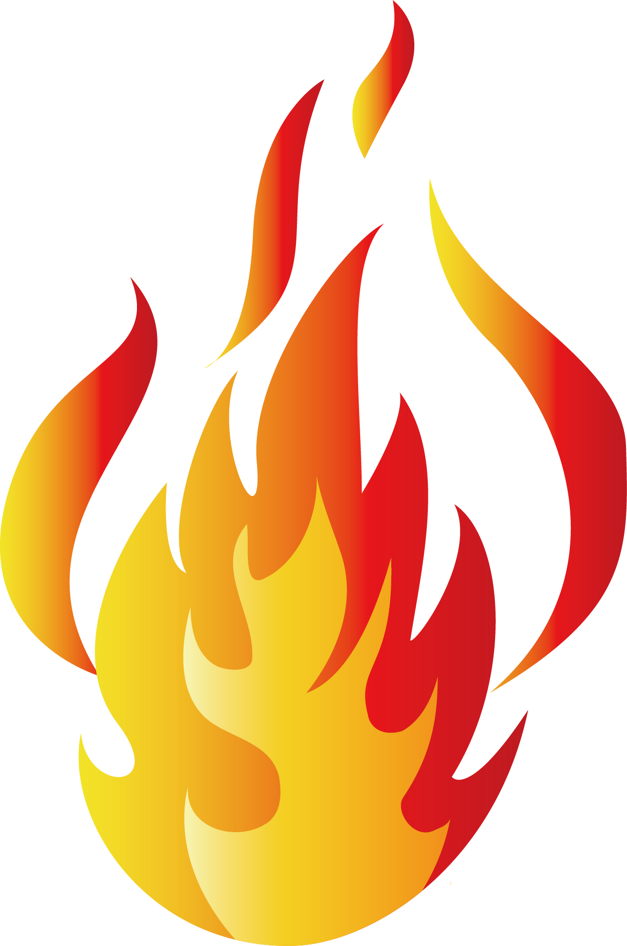 Cool flame Cartoon - Flame cartoon png download - 1250 ...
