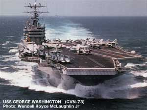 USS GEORGE WASHINGTON (CVN-73)のJPG