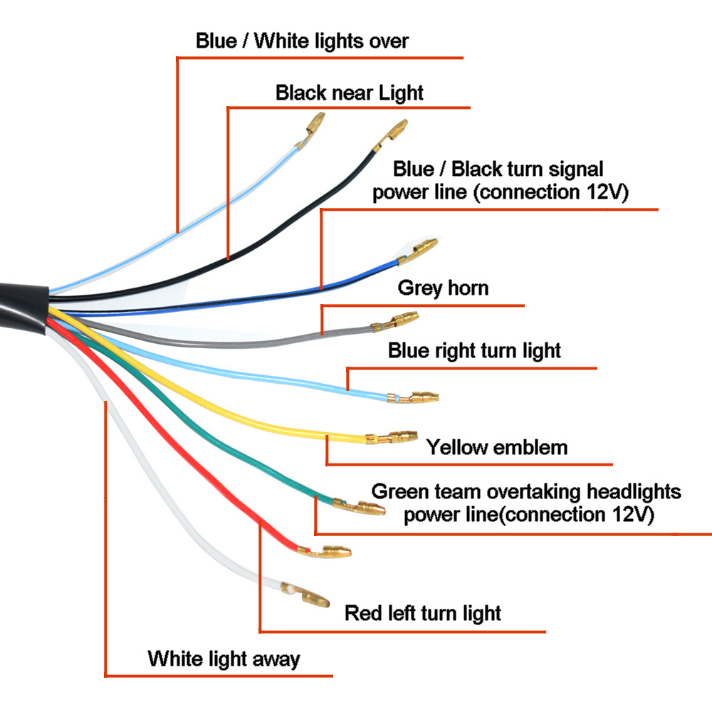 Motorcycle Light Switch Wiring Diagram