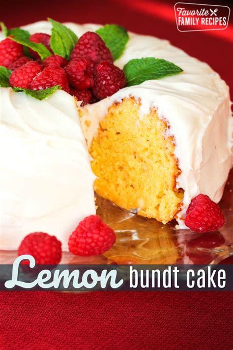 bundt cakes lemon cake copycat recipe tastes