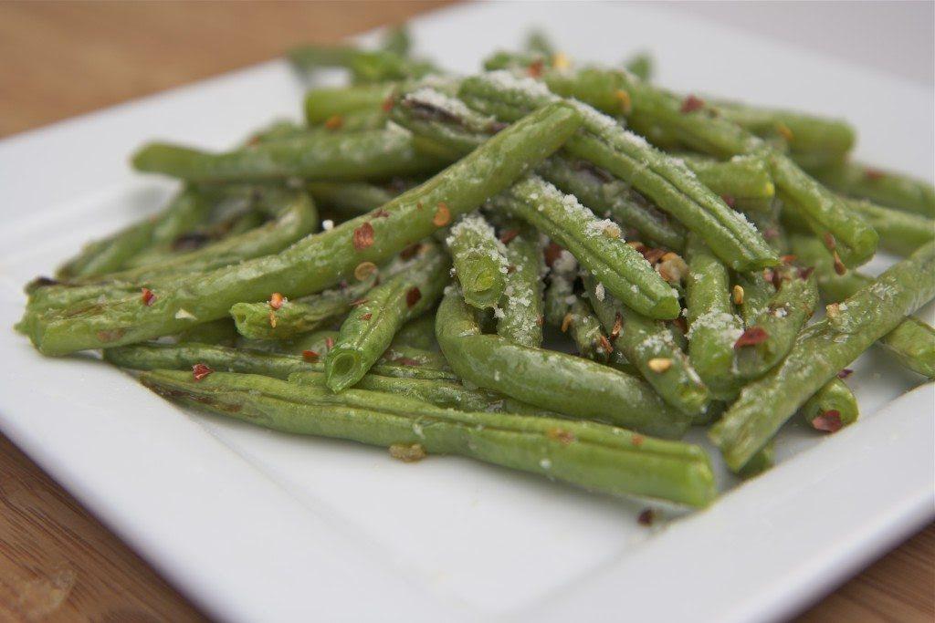 Roasted Fresh Green Beans Recipe ~ Parmesan Garlic   Divas ...