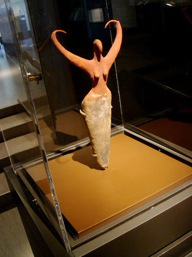 Egyptian tomb figure, c. 3500 BC