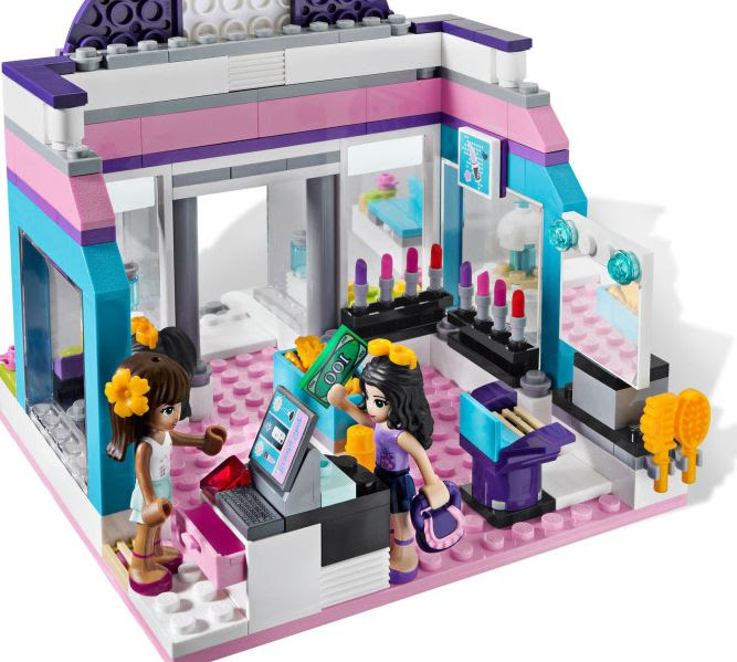 Lego Friends 3187 - Butterfly Beauty Shop | i Brick City