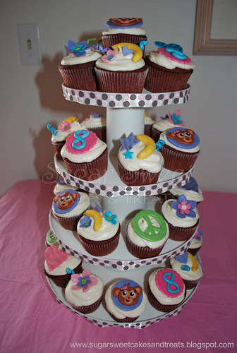 Justice for Girls Monkey Cupcake Tower